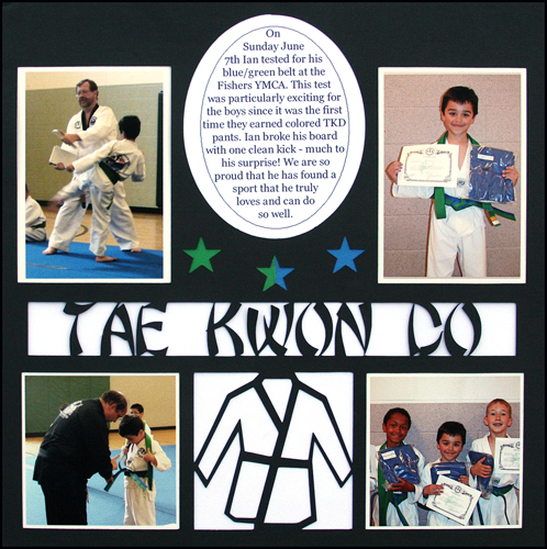 Tae Kwon Do Layout