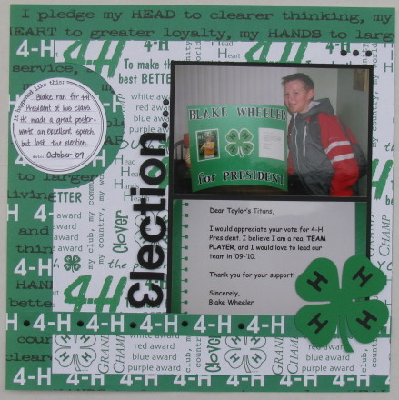 4-H Election Layout