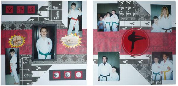 Martial Arts Layout