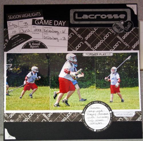 Lacrosse Layout