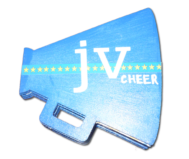 JV Cheer Mini Book