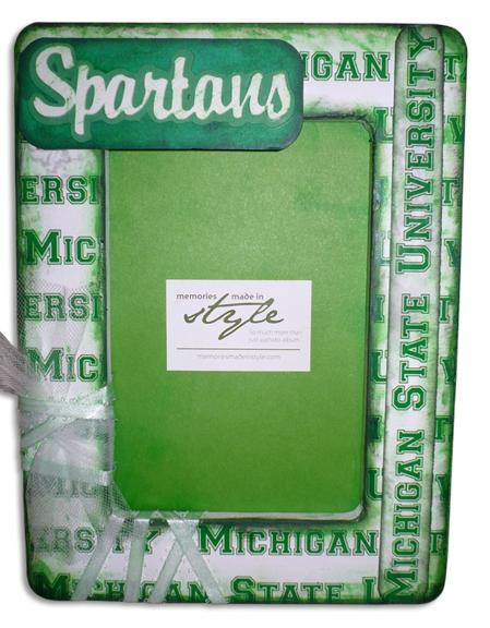 Michigan State Spartans Frame