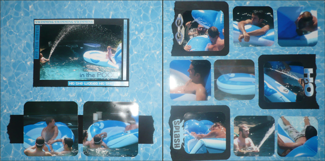 In the Pool Layout