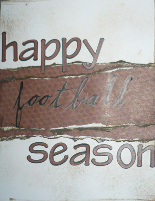Happy Football Season Card