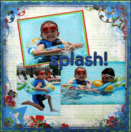 Splash! Layout