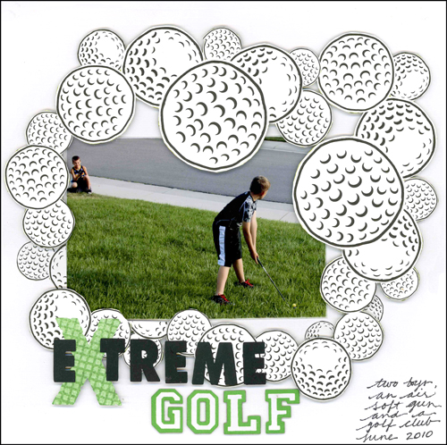 Extreme Golf Layout