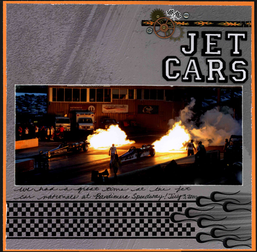 Jet Cars Layout