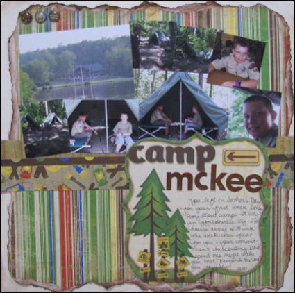 Camp McKee Layout