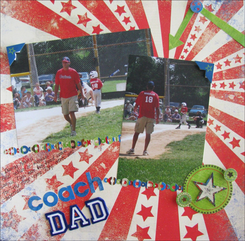 Coach Dad Layout