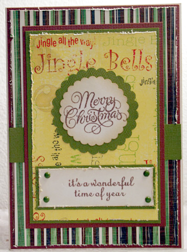 Jingle Bell Christmas Cards