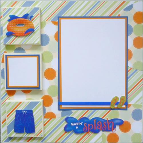 Make a Splash 3D Canvas Photo Display
