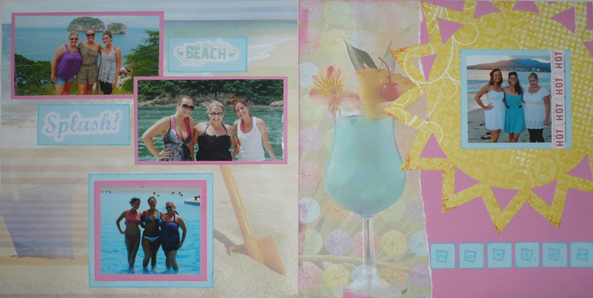 Vacation in Mexico Layout