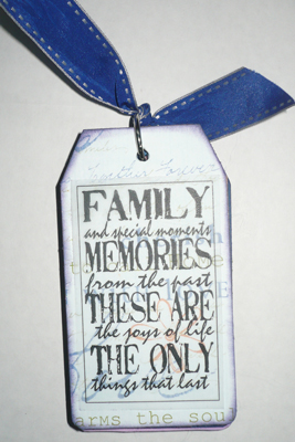 Family Tag Book
