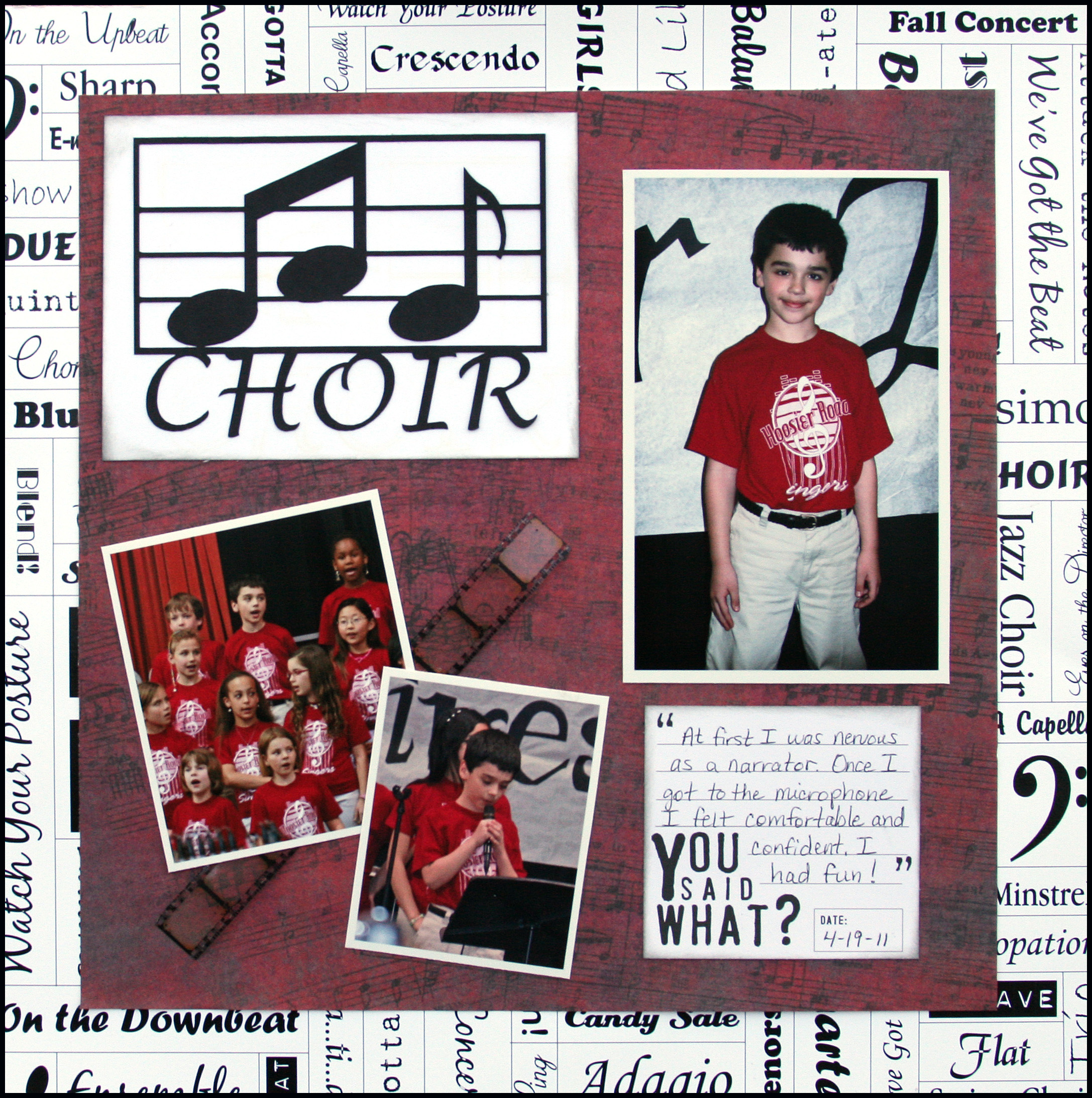 Choir Layout