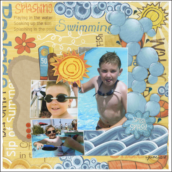 Splish Splash Layout