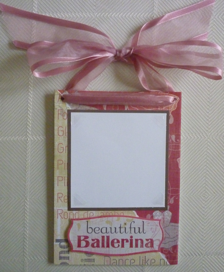 Dance Photo Door Hanger