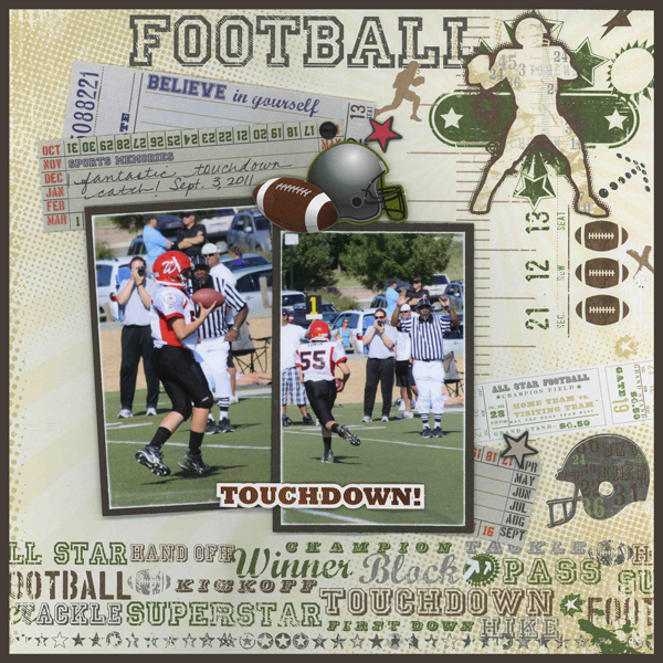 Touchdown Layout