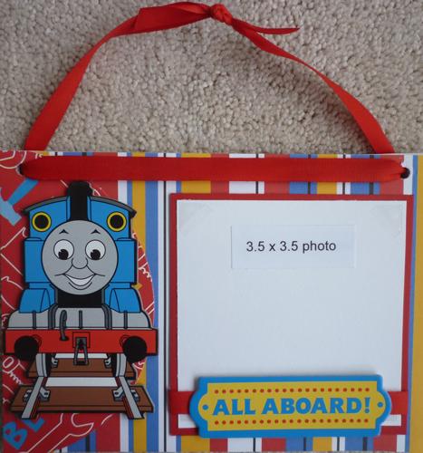 Thomas the Train Photo Sign