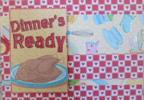 Dinner's Ready Card