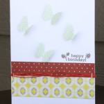 Happy Birthday Card by Carolyn Lontin
