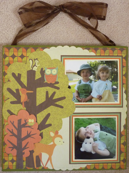 Tiny Woods Canvas Photo Layout