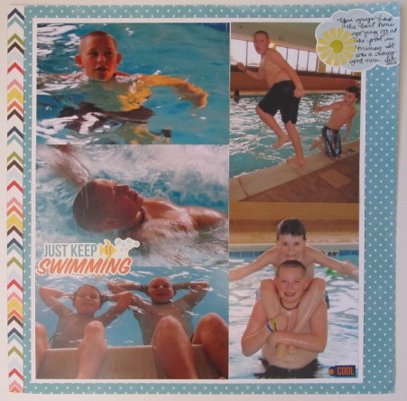 Just Keep Swimming  Layout