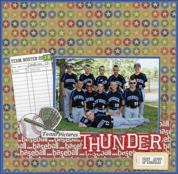 Thunder (baseball) Layout
