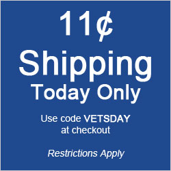 11¢ Shipping Today Only