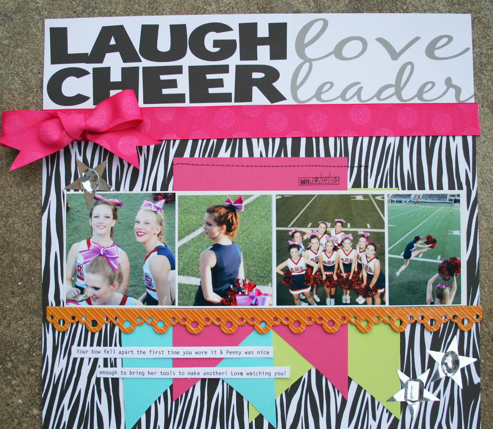 Laugh, Love, Cheer, Leader