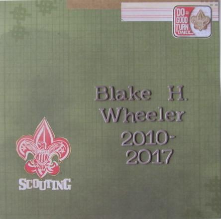 Scout Album Title Page