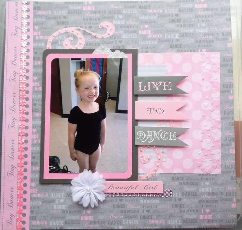 Live to Dance Layout