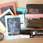 A Chalkboard Card Set by Tessa