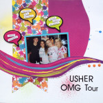 Usher Concert  Layout