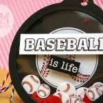 Baseball is Life Shaker Tag