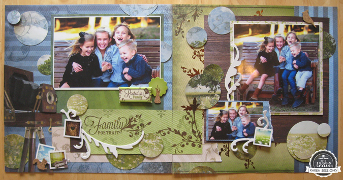 Family Portrait Layout