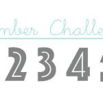 1, 2, 3, 4, 5 (Number Challenge)