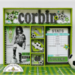 Goal! Collection: Soccer Shadow Box by Jennifer Beason