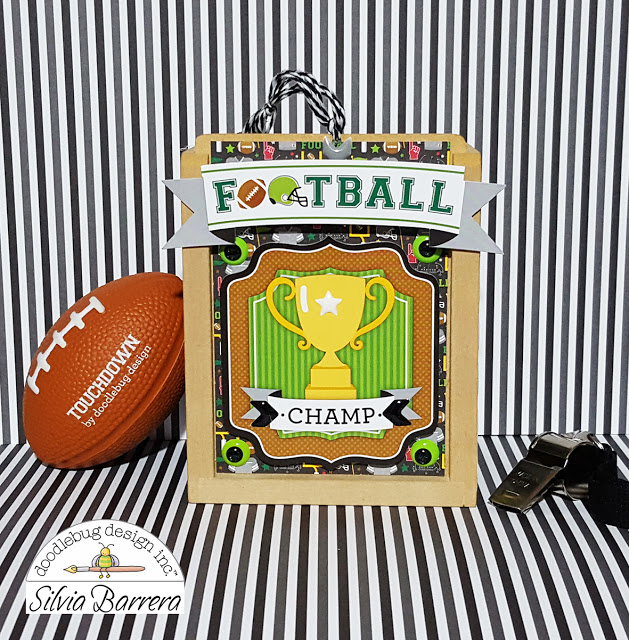 Touchdown Collection: Champ Shadow Box