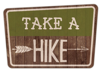 Take A Hike 2 Page Layout Kit!