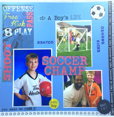 Soccer Champ Layout