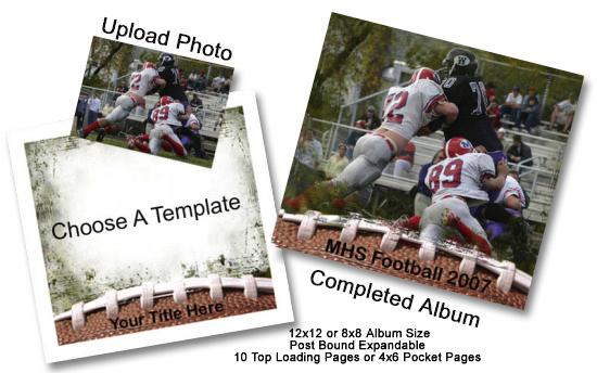 Create your very own Custom Scrapbook Album