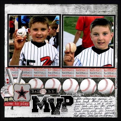 Baseball MVP 2009 Layout