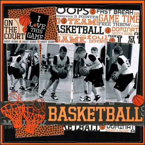 Basketball Layout