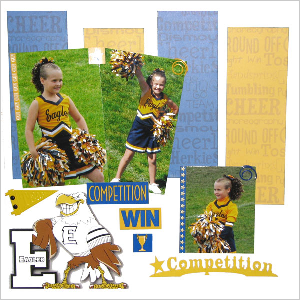 Cheer Competition Layout
