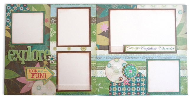 Girl Scout Explore Layout