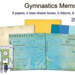 Gymnastics is a Flying Sport to Scrapbook