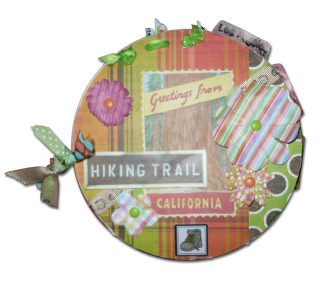 Take a Hike Chipboard Album