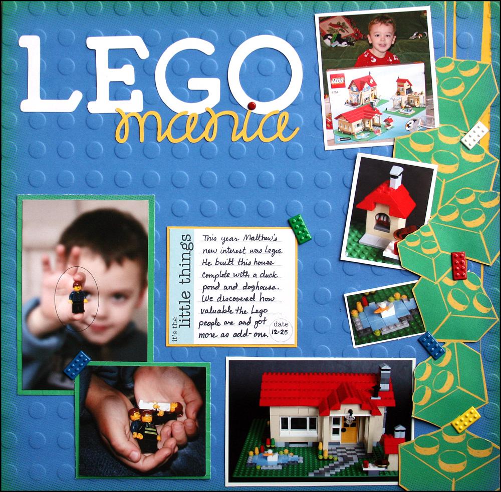 Lego Mania Layout