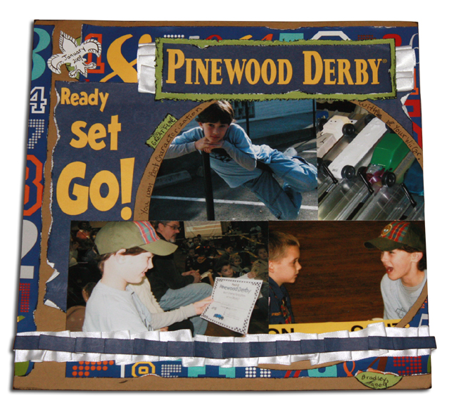 Pinewood Derby Layout