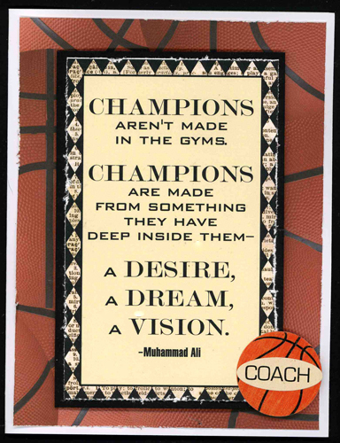 Coaches Cards